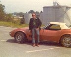 1974 with a 1967 Corvette 327/350