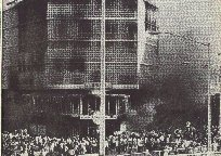Re-burning the Panam building as pictured in Life Magazine (Jan 24, 1964 Vol.56 No.4)