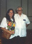 1992 Dad Clarke and Tita at one of the Pan Canal Society reunions in Tampa, FL