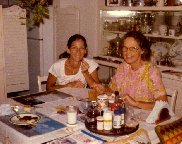 1979 Tita and stepmother, Emma Lou Clarke, St. Pete, FL