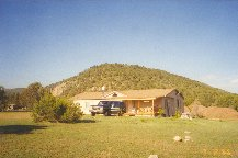 1996 Tita and Lucky's home in Glencoe, New Mexico
