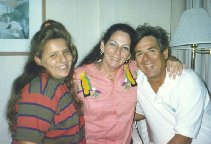~1991 Howie and Tita with Howie's daughter Amie at Canal Zone Society Reunion, Tampa, FL