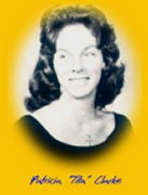 Tita (Clarke) Dunlap in her 1962 Caribbean Yearbook picture (Courtesy of CZAngels)